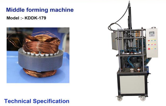 Middle forming machine Image