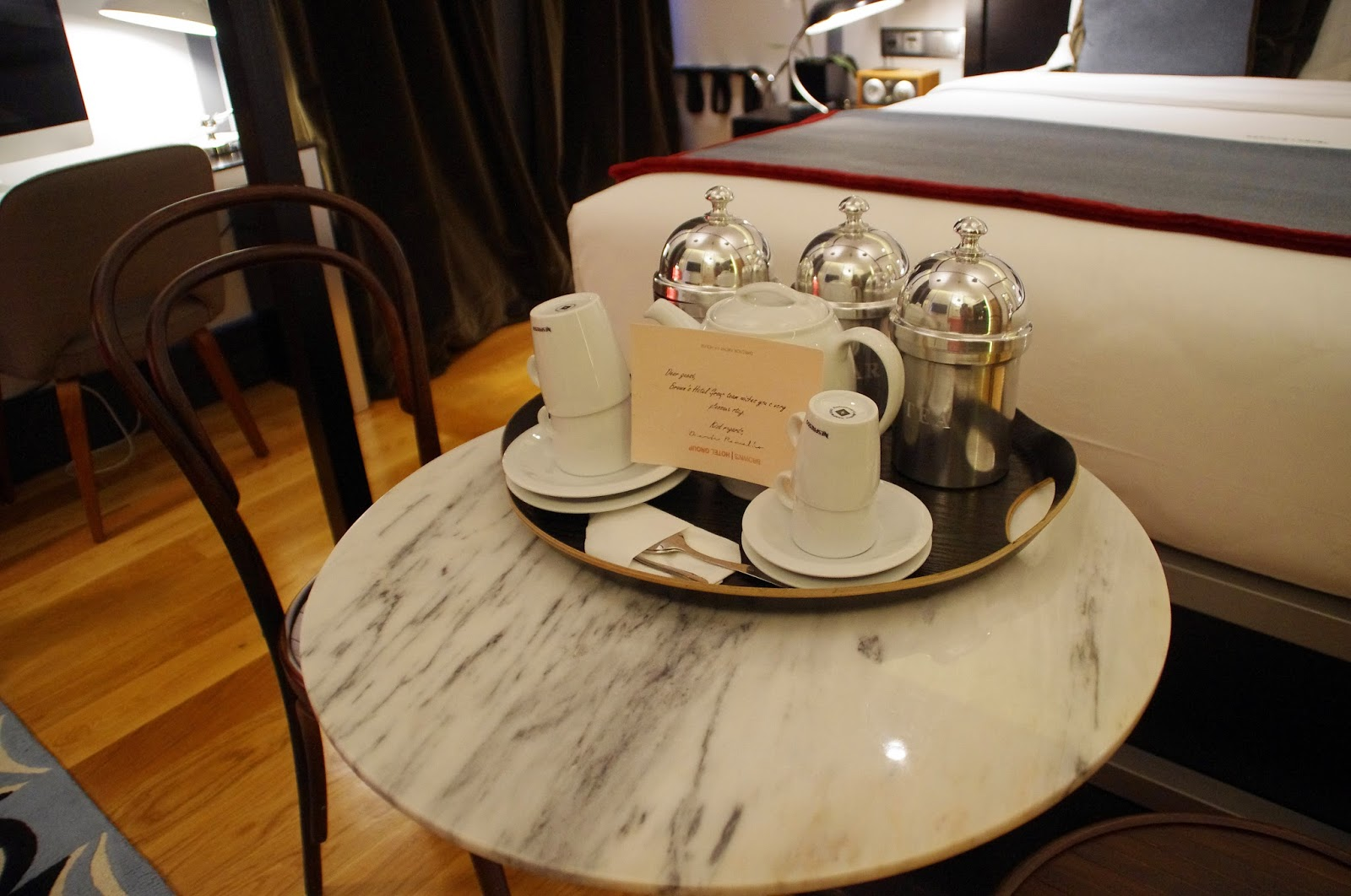 Brown's Central Hotel Lisbon Tea and Coffee in Room
