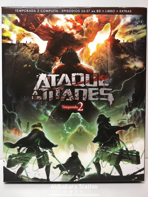Reseña de Ataque a los Titanes (Shingeki no Kyojin 進撃の巨人) Temporada 2 en BD - Selecta Visión