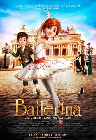 Ballerina 2016 Dual Audio Hindi 300MB BluRay 480p