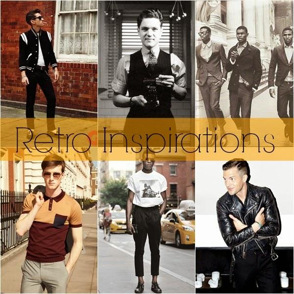 f9b82956265a1 As inspirações e referências para a moda retrô masculina podem ser muitas.  Afinal