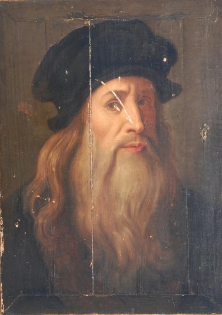 Leonardo, presumed self-portrait