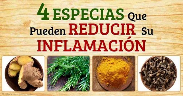 Especias Antiinflamarias