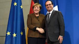 Merkel și Hollande vor prelungirea sancțiunile economice asupra Rusiei
