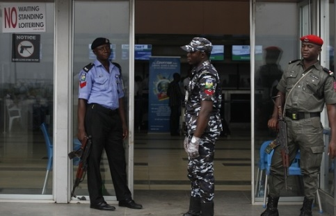Accidental Discharge: Police Orderly Shoots Self At MMIA Airport Ikeja Lagos