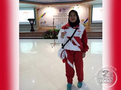 Foto 1 : Euis Nuraeni Atlet Hoki Asal Subang Ikuti SEA Games 2017