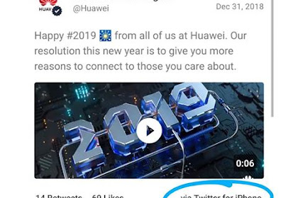 Huawei Demotes Employees Responsible for Tweeting From iPhone