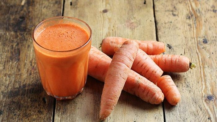 Jus wortel baik untuk mata