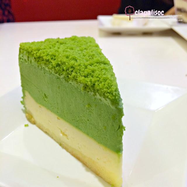 Matcha Double Cake from Genki Sushi