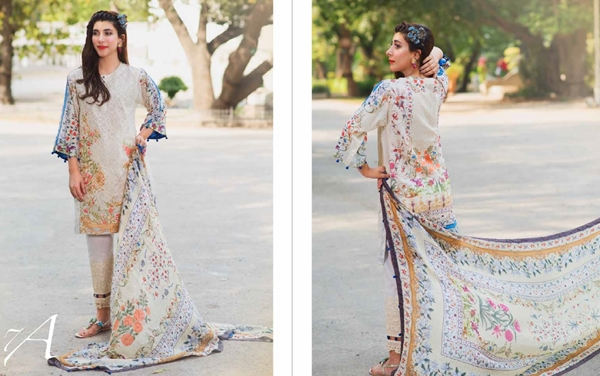 rang rasiya embroidered lawn