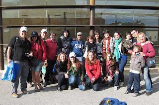 Bloggers del TBMCatSur de la Ruta 7 Pura Adrenalina.