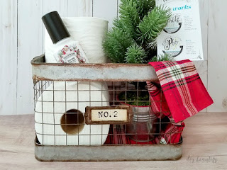 How to build the perfect guest basket for the holidays | diybeautify.com