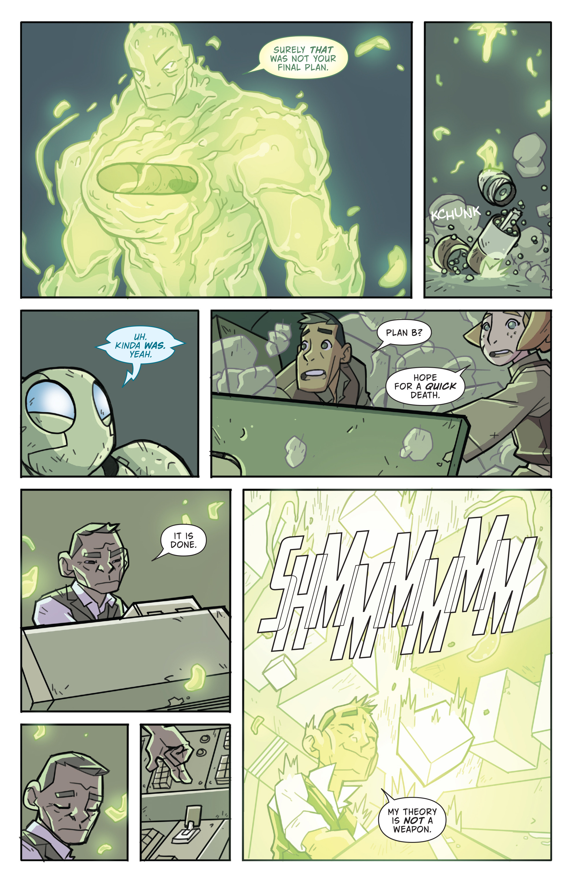 Read online Atomic Robo and the Temple of Od comic -  Issue #5 - 18