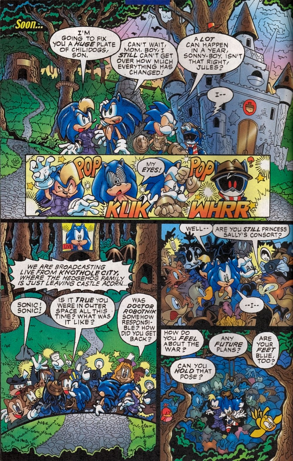 Read online Sonic The Hedgehog comic -  Issue #134 - 6