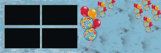 Birthday Photo album design