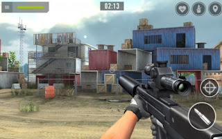 Sniper arena Pvp  army shooter mod apk level