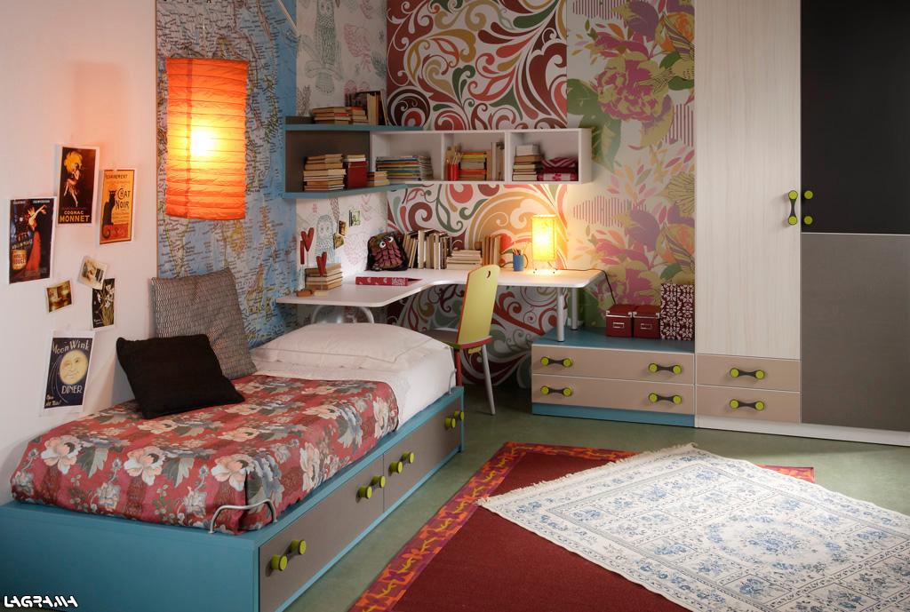 Habitaciones juveniles para adolescentes y jovenes - Diseno de dormitorios para jovenes ...