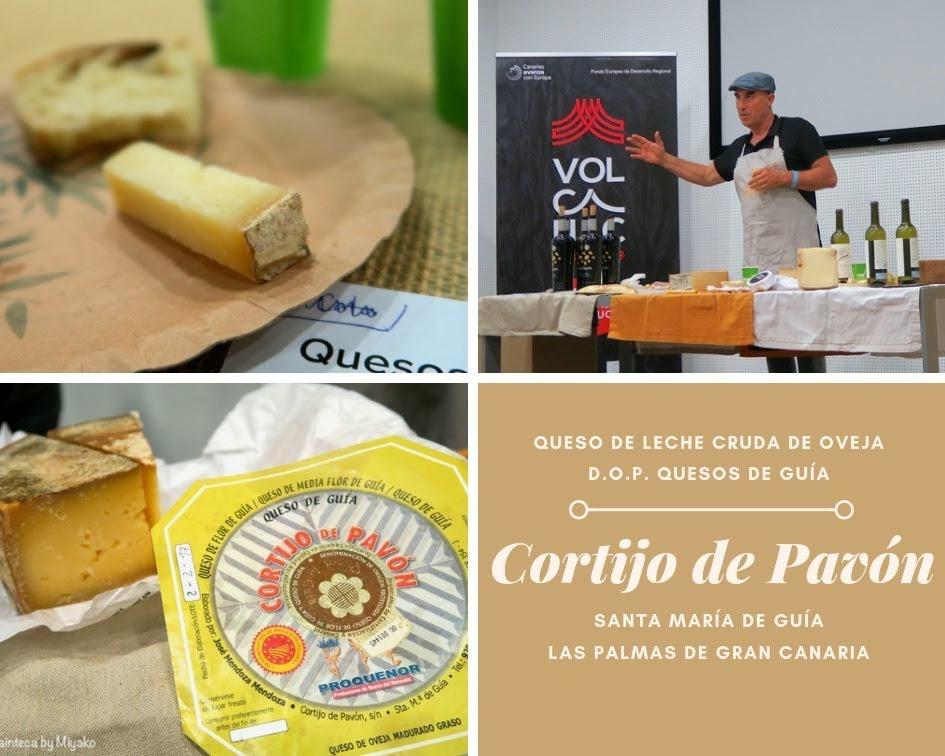Cortijo de Pavon コルティホ・デ・パボン スペインのカナリアス諸島の自然派チーズ