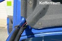 Kofferraum: AUTO VOX M1 Auto Rückfahrkamera mit Monitor 4.3'' TFT LCD Rückansicht Bildschirm mit IP68 wasserdichte Kamera für Einparkhilfe&Rückfahrhilfe, einfache Installation für die meisten Automodell