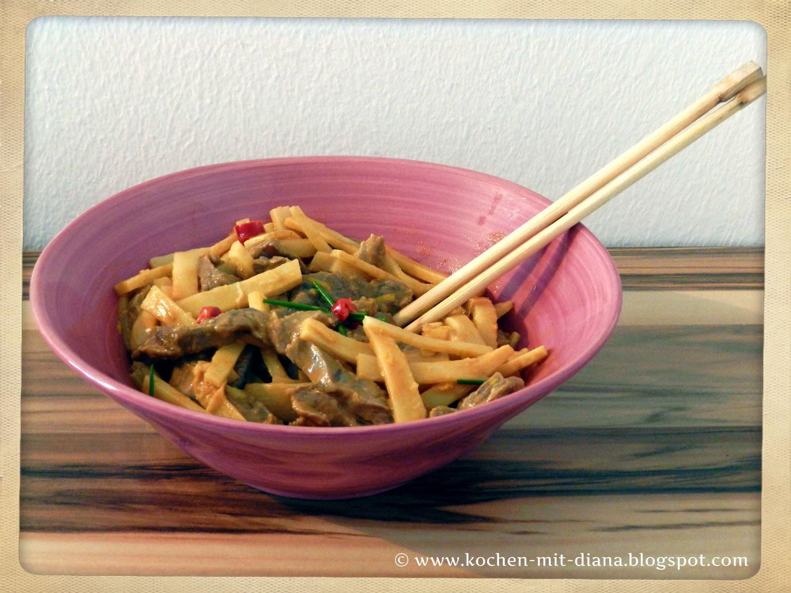 Rindfleischsalat mit Bambussprossen