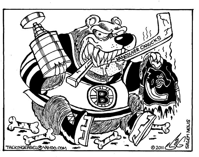boston bruins printable coloring pages | SMIG: Salem News: Bruins Take The Cup