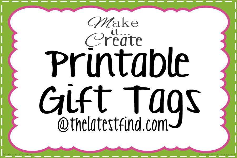 Make it Create by LillyAshleyFreebie Downloads Printable