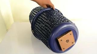 membuat mesin sensiri cuci bertenaga mesin bor