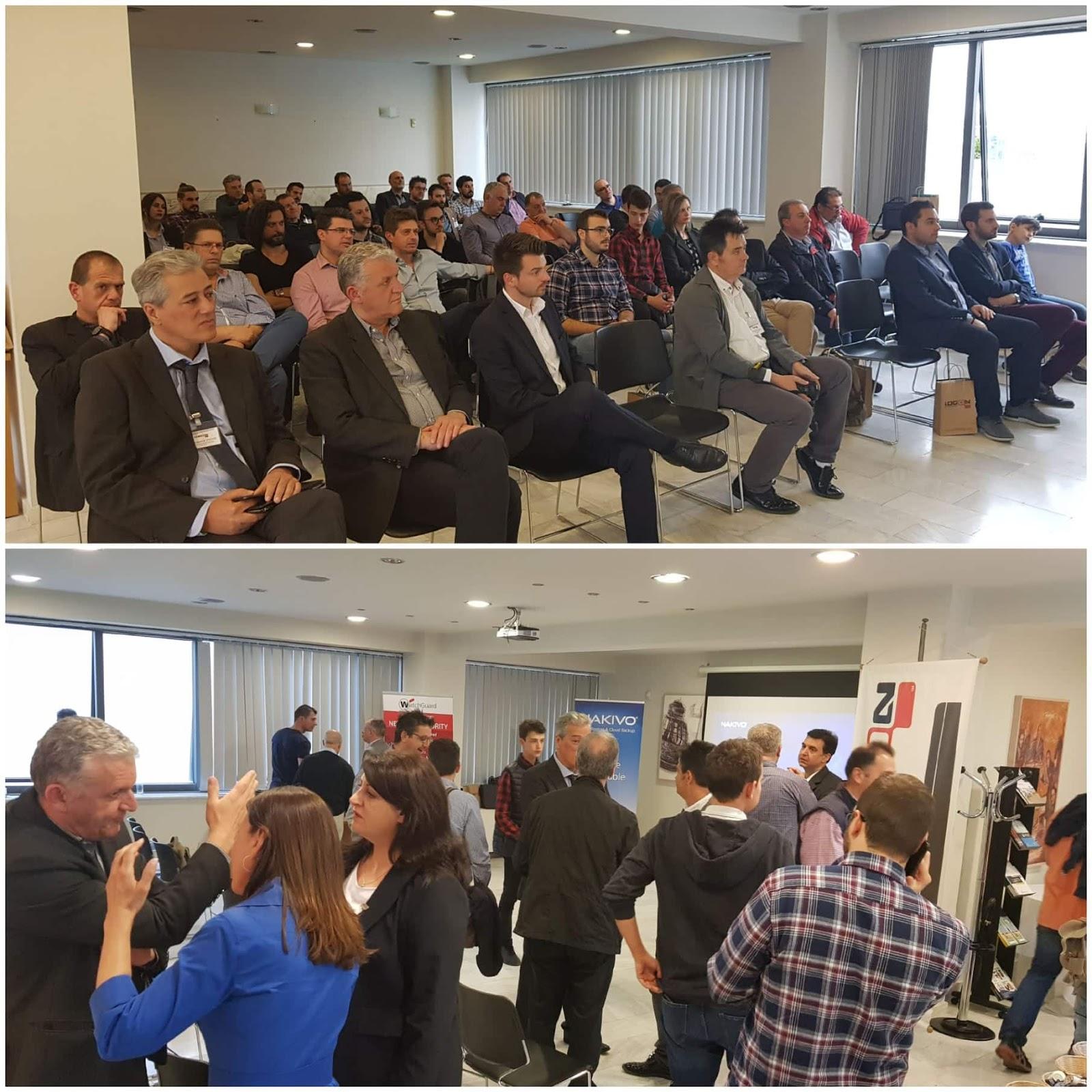 Με επιτυχία η εκδήλωση: «Λύσεις υψηλής διαθεσιμότητας και ψηφιακής ασφάλειας μηχανογραφικών συστημάτων για επιχειρήσεις»