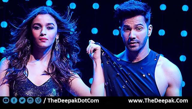 Tamma Tamma Loge starring Varun Dhawan, Alia Bhatt at Badrinath Ki Dulhania