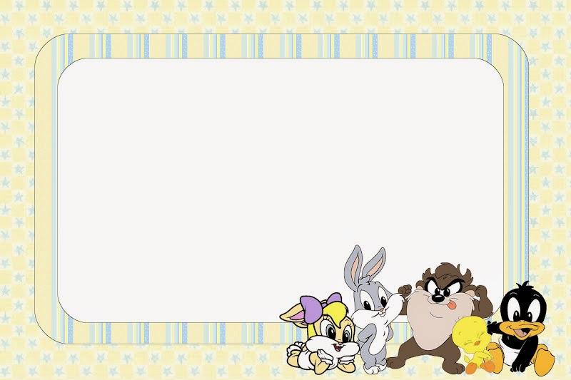 Looney Tunes Bebés: Invitaciones para Imprimir Gratis.   Oh My Bebé!