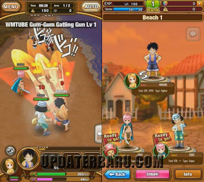 One Piece Thousand Storm Full Apk Version v1.9.3 Android