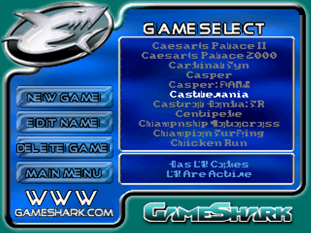 Gameshark v6 Psx ps1 iso
