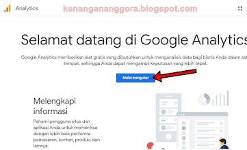 Cara Daftar Google Analytics Dengan Mudah