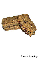 Cramer Imaging's photograph of high calorie survival food or energy bars on a white background