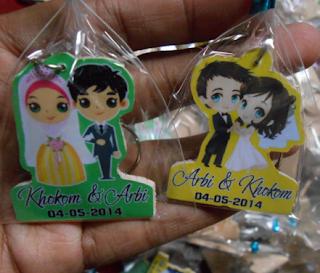 Harga Souvenir Pernikahan di Purwokerto