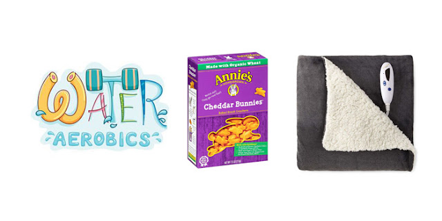 Water Aerobics Classes, Annie's Cheddar Bunnies, Heated Blanket, College Blogger, Lifestyle Blogger