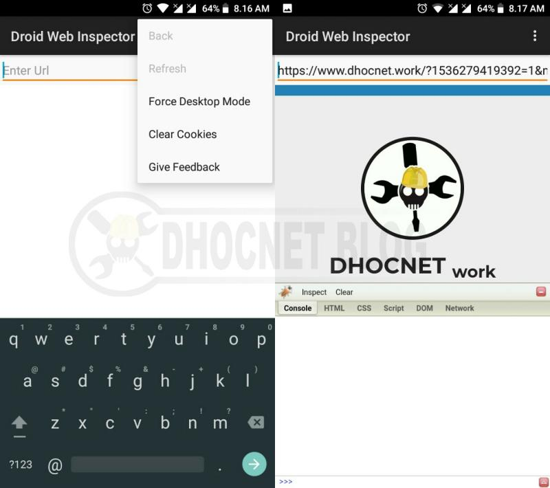 Menggunakan Firebug Pada Ponsel Android Dengan Droid Web Inspector