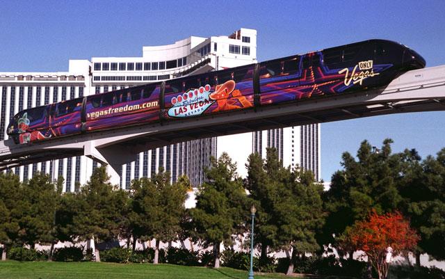 Un Viaje único Las Vegas: Pasion Por Viajar: Monorriel Las Vegas