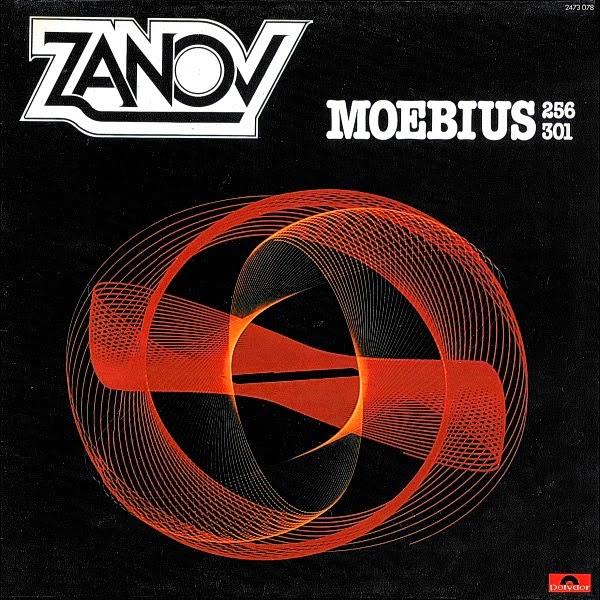 Moebius 256 301 (Polydor, 1978), el segundo álbum del músico cósmico francés Zanov