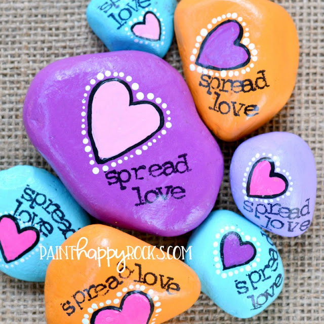 saying for painted rocks - what to paint on kindness rocks