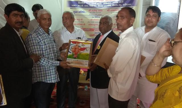 Annual celebration of Haryana Uday monthly news magazine