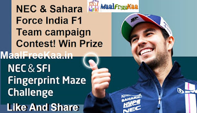 NEC & Sahara Force India F1 Team campaign Win Prizes