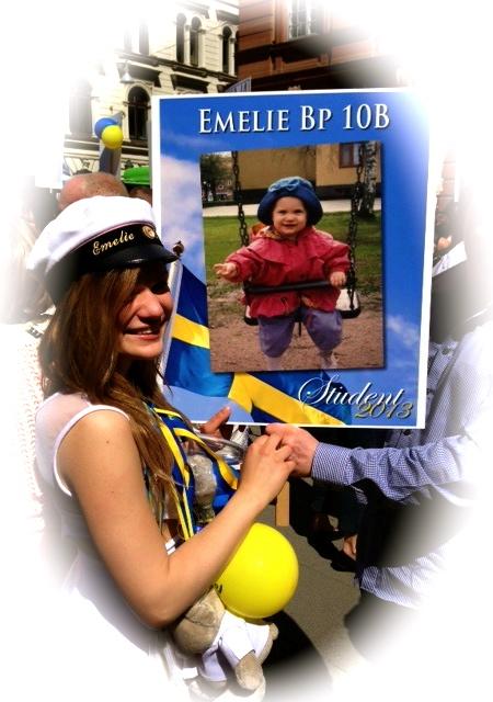 stort grattis till studenten Prinsessorna på Bellevue: Stort grattis till studenten, Emelie! stort grattis till studenten