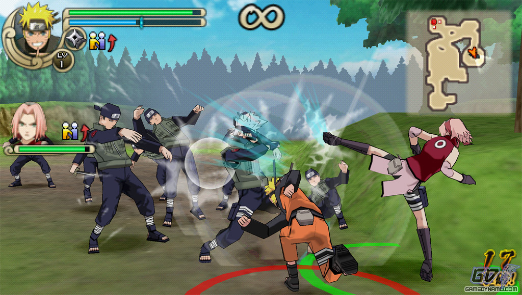 download naruto shippuden ultimate ninja impact rom