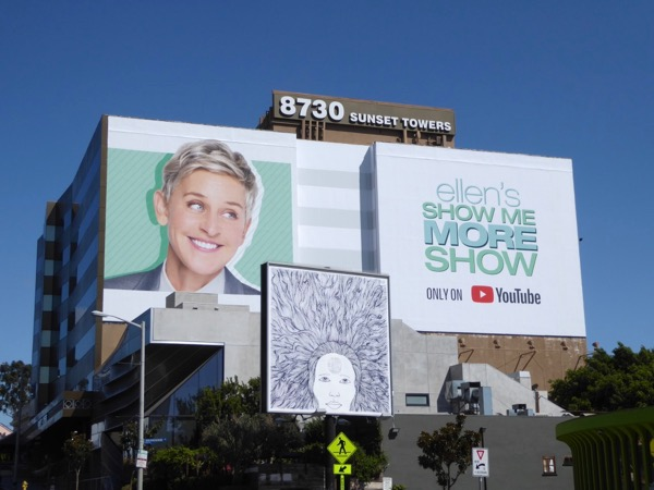 Ellens Show Me More Show YouTube billboard