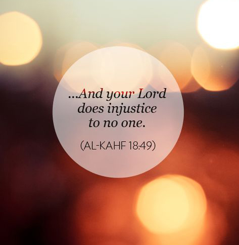 Justice in Islam Quote