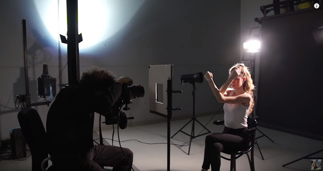 'How To' shoot against studio backlighting!