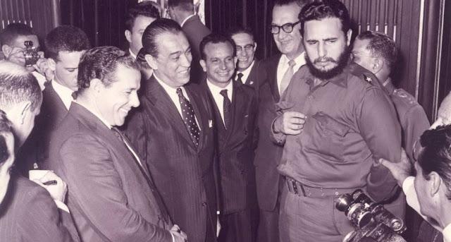 Fidel castro janio quadros