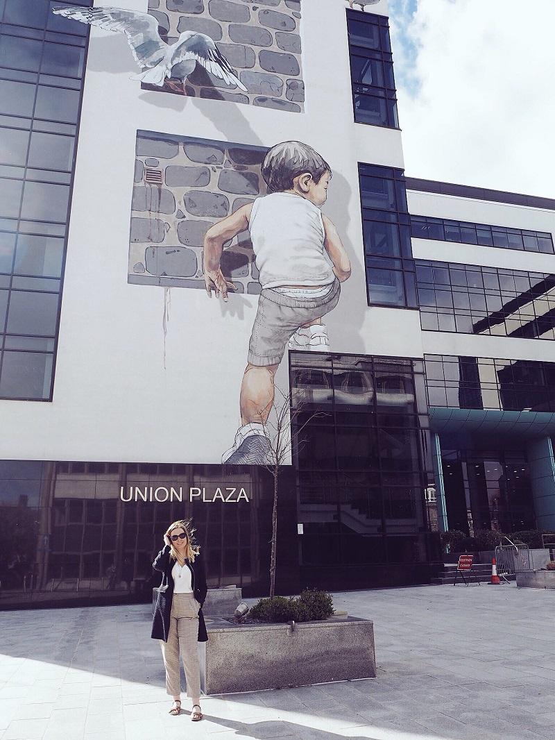 Street art at Union Plaza Aberdeen