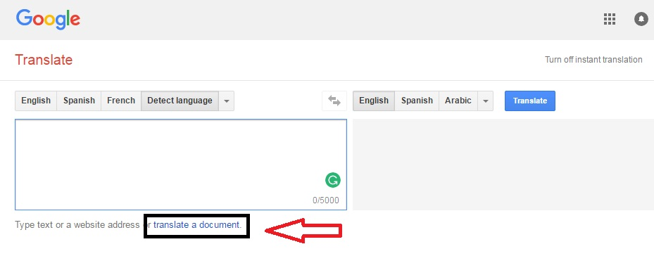 How To Translate PDF Files,Word Documents Using Google Translate And